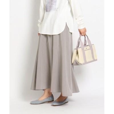 grove / 【S-LL】ライトマチ付きフレアスカート WOMEN スカート > スカート