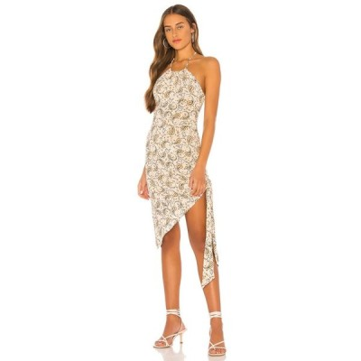 トゥラロサ Tularosa レディース ワンピース ミドル丈 ワンピース・ドレス The Jade Midi Dress Multi Paisley