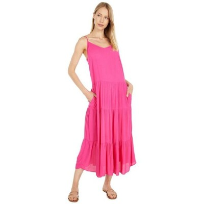 ワンステイト レディース ワンピース トップス Tiered Maxi Dress