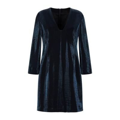 ドライコーン DRYKORN ミニワンピース&ドレス ブルー 2 コットン 75% / ポリエステル 25% ミニワンピース&ドレス