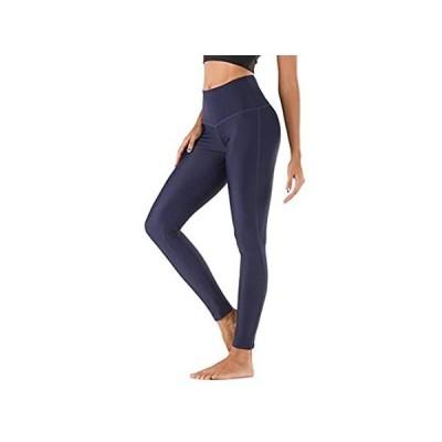 MAXE Women's High Waisted Swim Leggings UPF 50+ Swim Pants Surfing Tights S