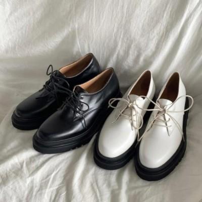 picknfit レディース ローファー Jaming Oxford Oversole Loafers 5cm