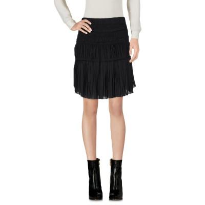 イザベル マラン ISABEL MARANT ミニスカート ブラック 36 ポリエステル 100% ミニスカート