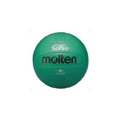 モルテン ソフトサーブケイリョウバレーボール 4ゴウ 品番:EV4G カラー:ミドリ