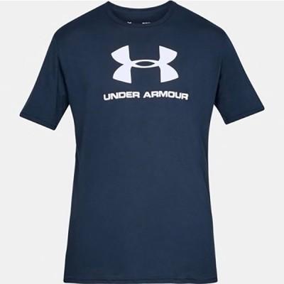 アンダーアーマー UNDERARMOURUA SPORTSTYLE LOGO SSメンズ Tシャツ1358574-408