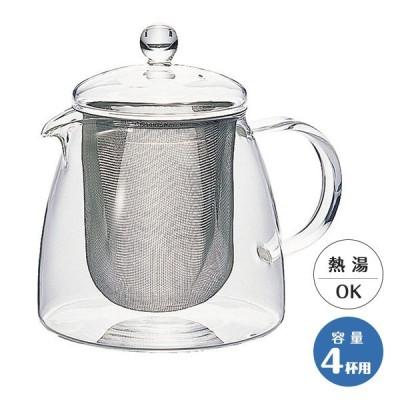 HARIP ハリオ リーフティーポット・ピュア CHEN-70T 700ml 耐熱ガラス