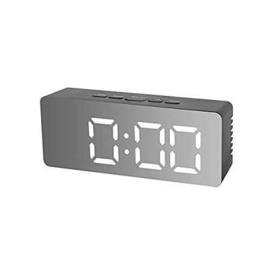 特別価格Yosooo Digital Clock with Makeup Mirror, USB Chargeble Multifunctional Alar好評販売中