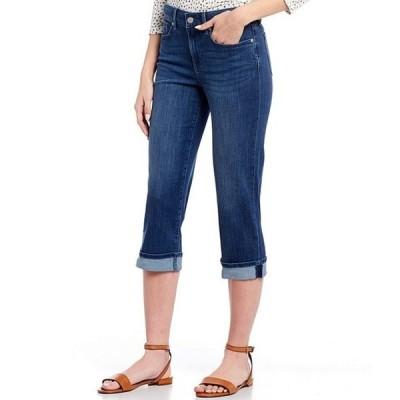 エヌワイディージェイ レディース デニムパンツ ボトムス Marilyn Cuffed Crop Cool EmbraceR Denim Jeans