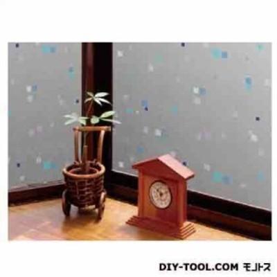 明和グラビア 空気が抜けやすい窓飾りシート ライトブルー 92cm幅×15m巻 GDPR-9232