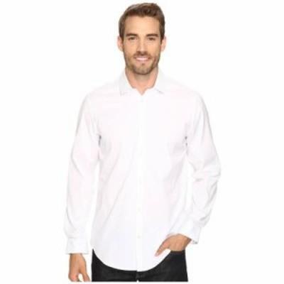 カルバンクライン その他シャツ Long Sleeve Infinite Cool Button Down Oxford Shirt White