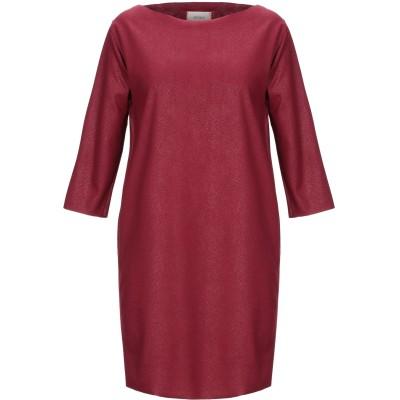 VICOLO ミニワンピース&ドレス ボルドー S ポリエステル 95% / ポリウレタン 5% ミニワンピース&ドレス