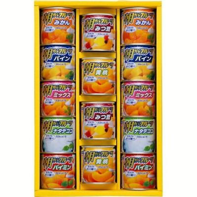 お中元 2021 夏ギフト缶詰 フルーツデザートギフト果物 くだもの みかん パイン 挨拶 送料無料 人気 親 両親 取引先
