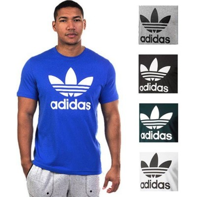 アディダス オリジナルス adidas メンズ トレフォイル Tシャツ 半袖 トップス ファッション ロゴ スポーツ カジュアル