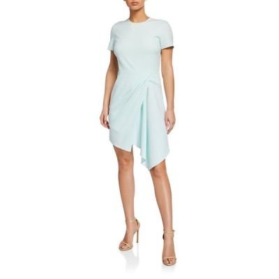 ショシャーナ レディース ワンピース トップス Cruz Short-Sleeve Crepe Dress