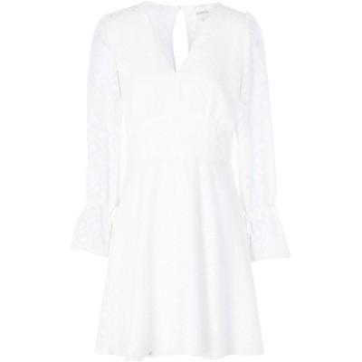 ADORÉE ミニワンピース&ドレス アイボリー XS ポリエステル 100% ミニワンピース&ドレス