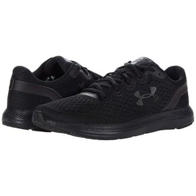 アンダー アーマー Charged Impulse メンズ スニーカー 靴 シューズ Black/Black/Black