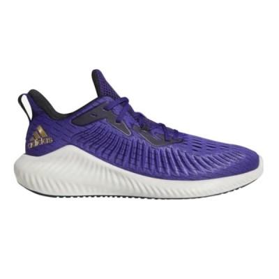 アディダス メンズ アルファバウンス プラス adidas Alphabounce + Run ランニングシューズ Team College Purple/Gold Metallic/Core Black