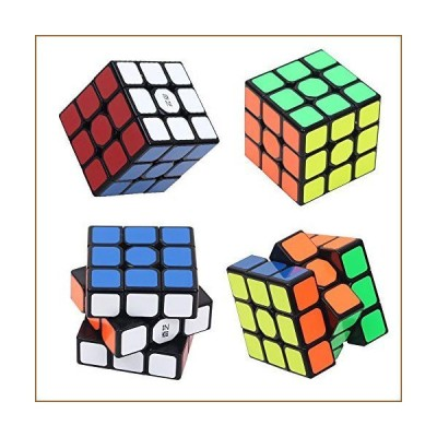 Speed Cube Easy Turning Magic Cube 3x3x3 Puzzle Cube Educational Brain Teaser Game【並行輸入品】