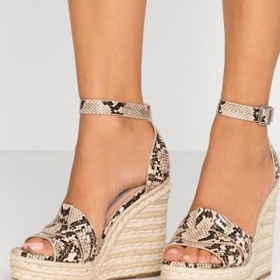 スティーブマデン レディース 靴 シューズ SIVIAN - High heeled sandals - beige
