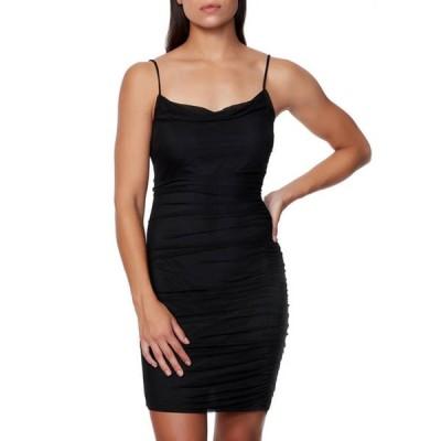 ベベ レディース ワンピース トップス Women's Mesh Mini Dress
