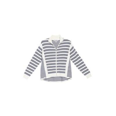 トッミーバハマ レディース パーカー・スウェットシャツ アウター Tami Striped Zip Cardigan FRENCH CRE