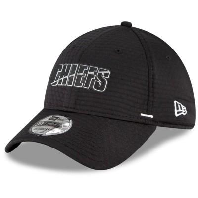 カンザスシティ・チーフス New Era 2020 NFL Summer Sideline 39THIRTY Flex キャップ - Black