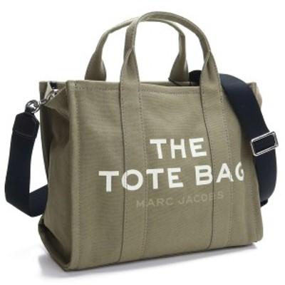 【新品】 マーク ジェイコブス MARC JACOBS The Tote Bag スモール トラベラートート トートバッグ M0016161 372 SLATE GREEN カーキ レ