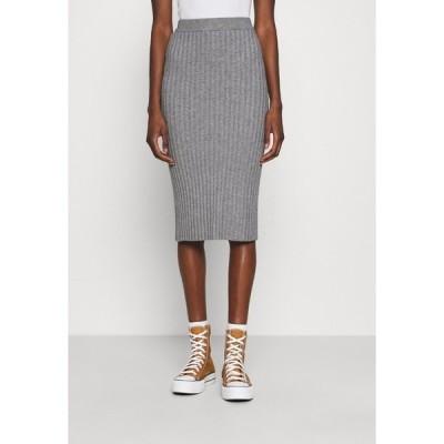 モス コペンハーゲン スカート レディース ボトムス GWEN RACHELLE SKIRT - Pencil skirt - mottled grey