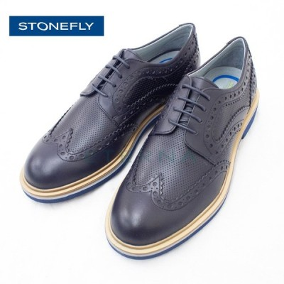 STONEFLY ストーンフライ メンズシューズ レースアップシューズ ダービーシューズ 紳士靴 靴 痛くない コンフォート ネイビー 紺 21124
