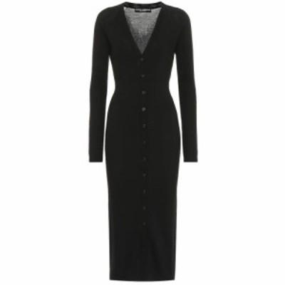 ドルチェandガッバーナ Dolce and Gabbana レディース ワンピース ワンピース・ドレス Cashmere-blend dress Black
