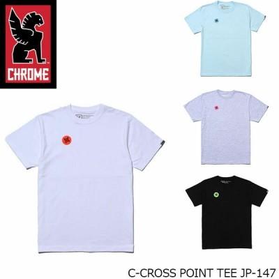 クローム CHROME 半袖Tシャツ C-CROSS POINT TEE JP-147 CRMJP147 国内正規品
