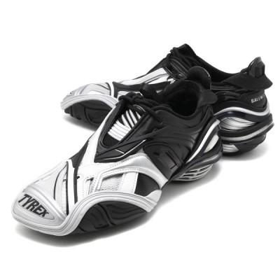 バレンシアガ スニーカー/靴 シューズ メンズ タイレックス ローカット ブラック&グレー 617535 W2CB1 1081 BALENCIAGA