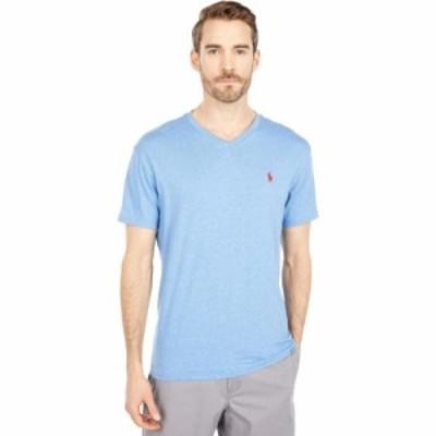 ラルフ ローレン Polo Ralph Lauren メンズ Tシャツ Vネック トップス Classic Fit V-Neck Tee Pale Royal Heather