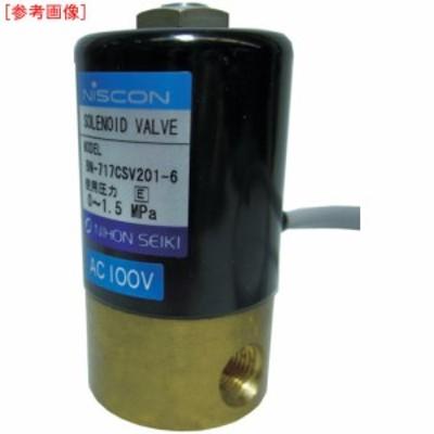 日本精器 tr-3954391 2方向電磁弁6AAC200V717CS (tr3954391)