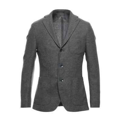 パオローニ PAOLONI テーラードジャケット グレー 48 ウール 53% / ポリエステル 43% / ナイロン 4% テーラードジャケット