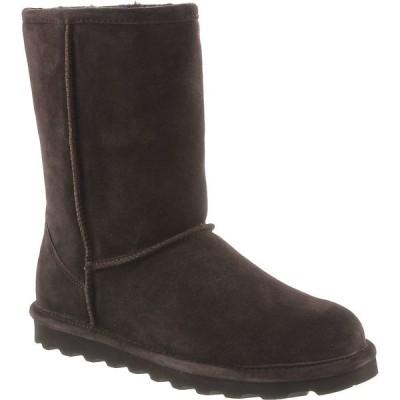 ベアパウ ブーツ&レインブーツ レディース シューズ Bearpaw Women's Elle Short Boot Chocolate Ii