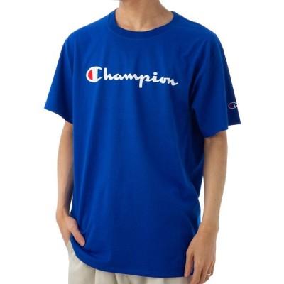 チャンピオン メンズ Tシャツ CHAMPION GT23HY07718 GUX ブルー L