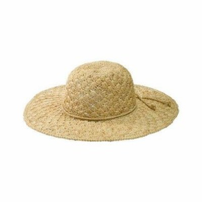 San Diego Hat  ファッション 帽子 San Diego Hat Company Womens  Raffia Shell Stitch Large Brim RHL3084 Natural