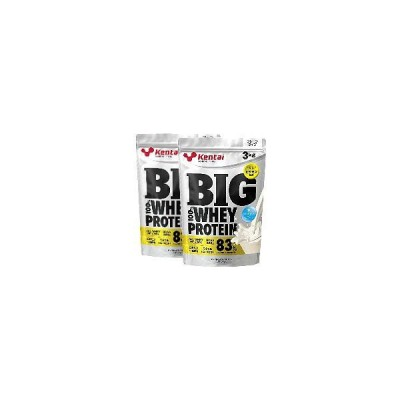 Kentai(ケンタイ) ビッグ 100%ホエイプロテイン プレーンタイプ 3kg x 2袋(徳用)