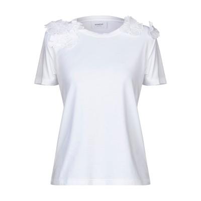 ドンダップ DONDUP T シャツ ホワイト L コットン 92% / ポリウレタン 8% T シャツ