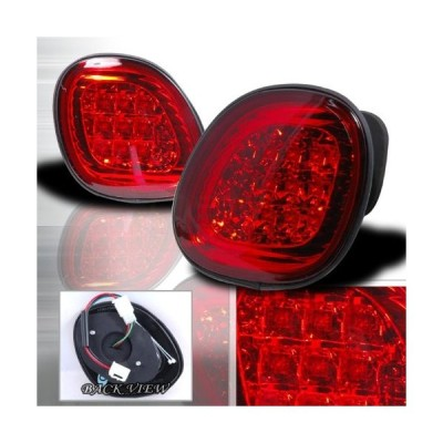 1998-2005 Lexus Gs300 Led Tail Lights Red - Trunk Piece