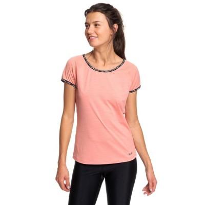 アウトレット価格 セール SALE セール SALE ロキシー ROXY  フィットネス  YOUNG AND BEAUTIFUL TEE Tops