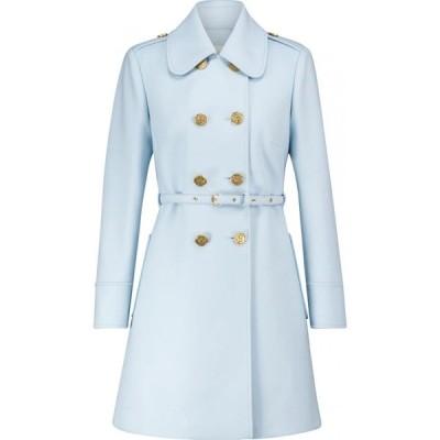 REDV レディース コート アウター alentino wool-blend coat Sky