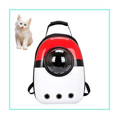 【新品】GYLJJ Pet Backpack Breathable Space Capsule Astronaut Bubble Travel Bag Transport Carrying Cute Small Dog Cat Carrier(並行