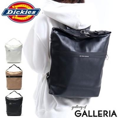 【商品レビューで+5%】ディッキーズ リュック Dickies リュックサック SYNTHETIC LEATHER 2WAY BAG A4 9L カジュアル 14504600
