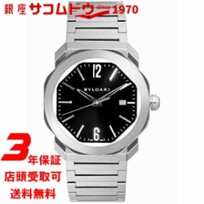 [ブルガリ] BVLGARI 腕時計 オクト ローマ OC41BSSD ブラック 自動巻き メンズ [並行輸入品]