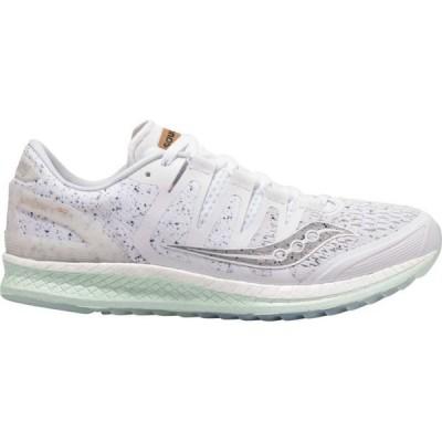 サッカニー Saucony レディース ランニング・ウォーキング シューズ・靴 Liberty ISO Running Shoes White Noise
