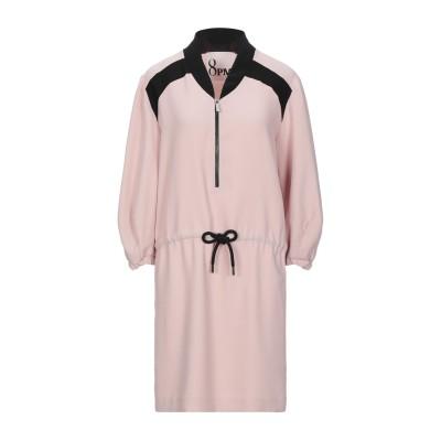 8PM ミニワンピース&ドレス ライトブラウン S ポリエステル 100% ミニワンピース&ドレス