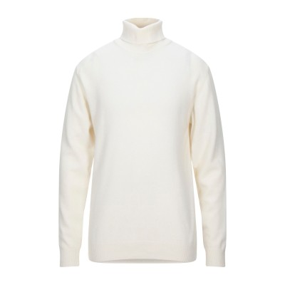 ダニエル フィエゾーリ DANIELE FIESOLI タートルネック ホワイト XL ウール 100% タートルネック