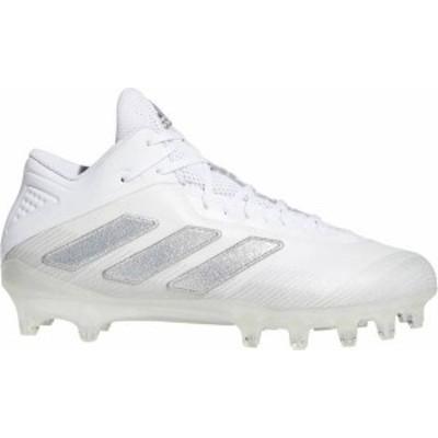 アディダス メンズ スニーカー シューズ adidas Men's Freak Carbon Football Cleats White/Silver